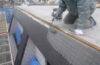 バルコニー防水工事/斜壁の雨漏り